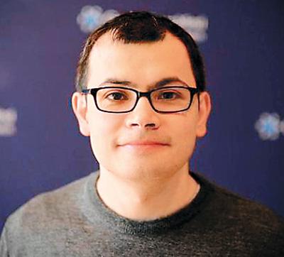 """阿尔法狗(AlphaGo)""之父杰米斯·哈萨比斯(Demis Hassabis)"