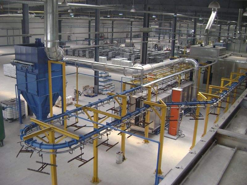 详解电泳涂装生产线的生产过程