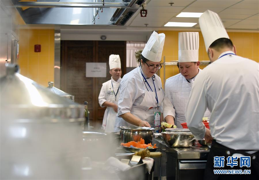 2017世界粤菜厨皇大赛在香港举行