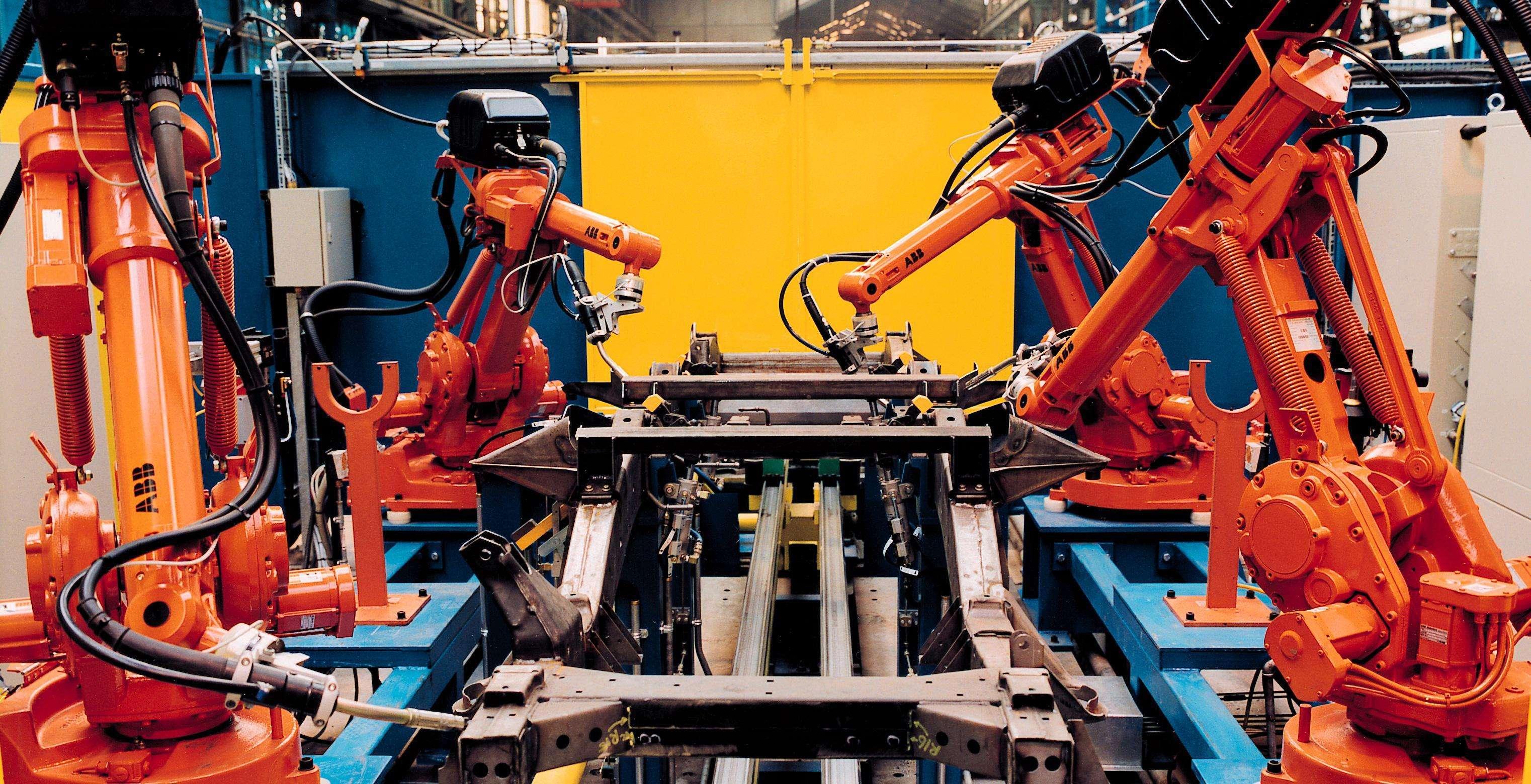 高性价比弧焊机器人在实际生产中的应用