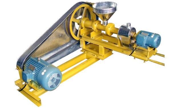 大米玉米膨化机的工作原理、结构及作用