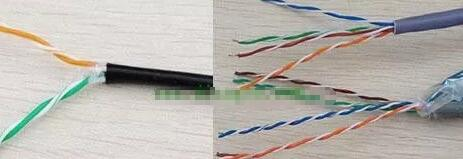 100M和1000M网线接水晶头的线序和接线接法图解