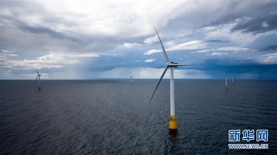 全球首座漂浮式海上风电场投产运营