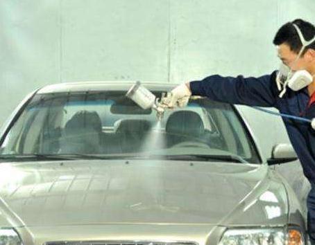 汽车喷漆技术教程(包括基本步骤以及汽车喷漆技术走枪技巧,工序和流