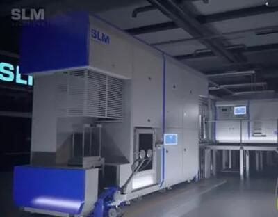 SLM Solutions推出超大型可扩展金属3D打印机