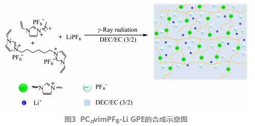 咪唑六氟磷酸盐聚离子液体凝胶电解质的辐射合成及性能研究