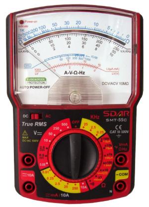 指针式万用表型号、测量技巧、使用方法和注意事项