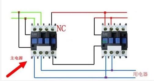 双电源自动切换电路原理及原理图