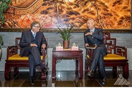 国家能源总经理凌文会见比尔·盖茨 共同努力第四代核电技术的推广和应用