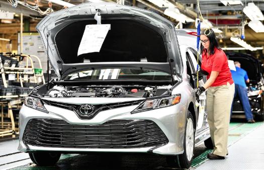 丰田将减缓在美凯美瑞生产 以应对变化的市场需求