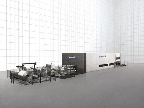 鞍钢成为亚洲首家采用舒勒激光落料线的企业