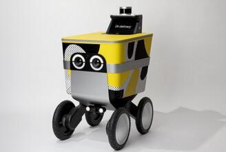 Postmates推出新型自动送货机器人———Serve