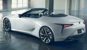 雷克萨斯LC Convertible敞篷概念车有望搭载5.0升自然吸气式V8引擎