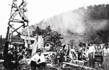 石油工业发展史:首家石油公司成立及首口油井诞生