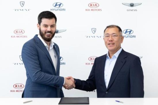 现代·起亚汽车与Rimac公司签署投资及战略合作协议