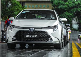 广汽丰田全新换代雷凌试驾:超越动力,极致驾趣