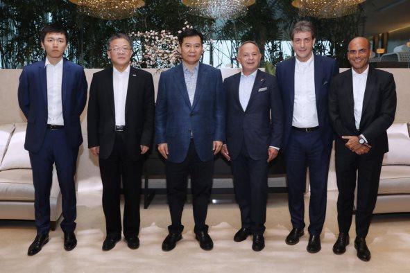 苏宁与意大利品牌代表签署合作协议,持续推进全球化供应链建设