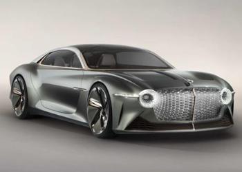 宾利全新概念车EXP 100 GT发布,致敬品牌诞生100周年