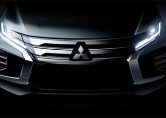 新款帕杰罗·劲畅中期改款车型预告图公布,外观及实用性配置全新升级
