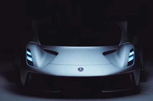 莲花推出首款电动超级跑车Evija,最高时速超过每小时200英里