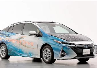 丰田太阳能普锐斯在日本开始试运行,车辆可边走边充电
