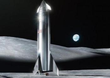 """SpaceX""""星际飞船""""未来几年或将带领人类重返月球"""