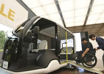丰田为2020年东京奥运会和残奥会开发出专用电动汽车