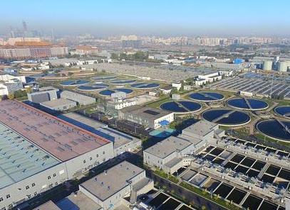 北京高碑店再生水厂污水区百万吨级