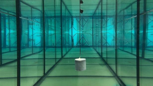 MIT研制的海底传感器动力来自表面发射器的声波