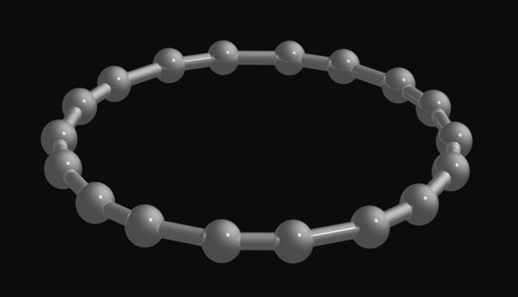 18个碳原子组成的环碳分子问世