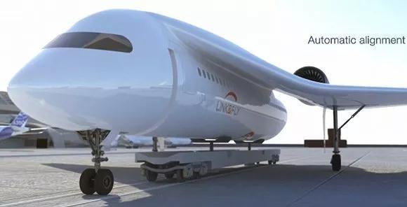 AKKA阿卡公布一款飞机设计视频 展示将火车和飞机融合的全新理念