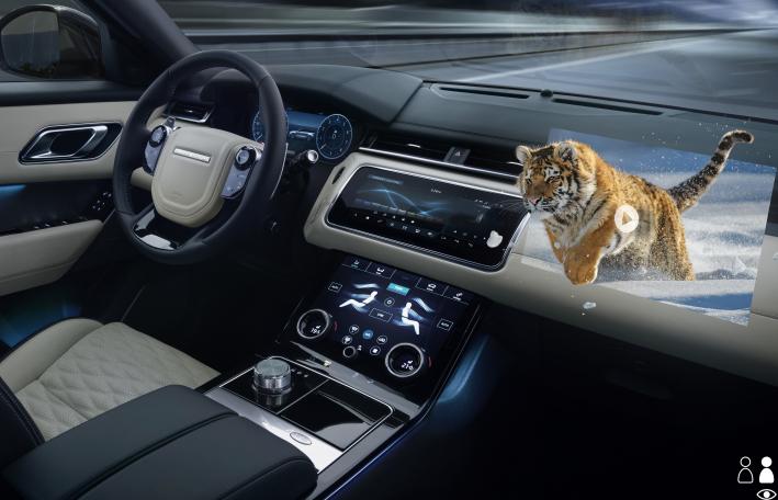 捷豹路虎正研发下一代抬头显示器技术 驾驶路况抬头可见