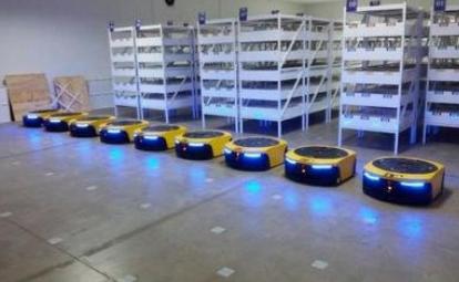 机器人一件包裹的AI旅行