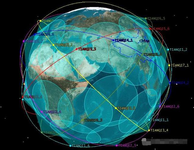 国内首个物联网星座初步实现组网运行