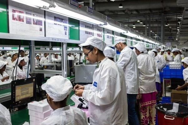 富士康:印度劳动力成本只有中国市场的一半,政府还提供帮助