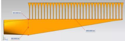 在线旋转调节的阻流棒作为阻流元件的锥形布浆器仿真研究