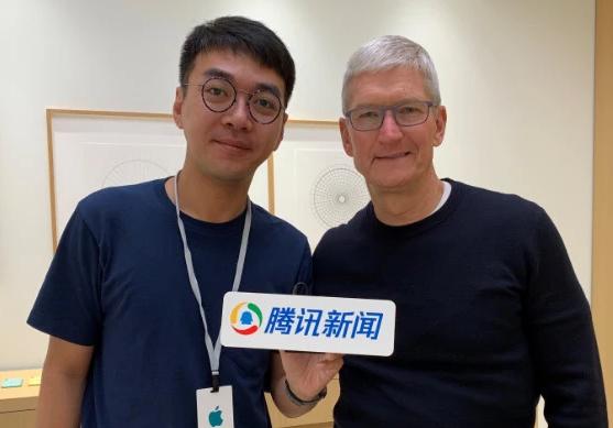 专访苹果CEO库克:苹果正在努力让中国用户花更少的钱用上新iPhone