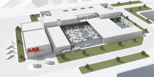 瑞士工业集团ABB机器人上海新工厂和研发基地正式破土动工