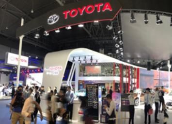 一汽丰田携TNGA成员齐聚成都车展,集中展示创新发展成果
