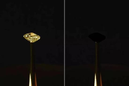 """一种比当前最黑物质要黑10倍的""""超黑""""材料,可吸收99.96%的入射光"""