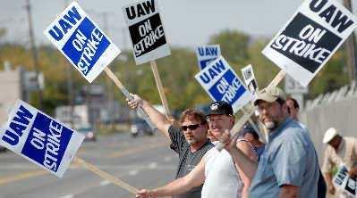 通用汽车4.8万人大罢工!时隔12年通用汽车再次饱受罢工威胁