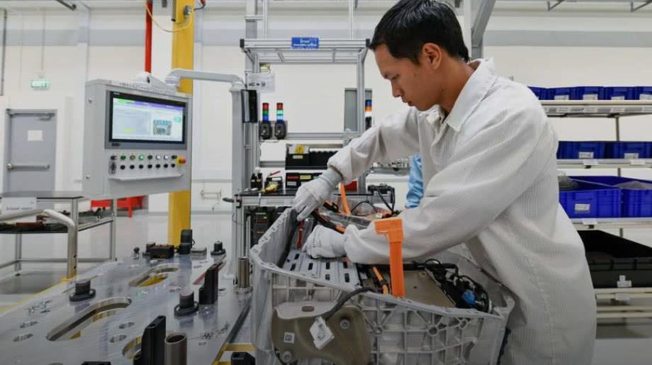 """宝马开始在泰国生产电池 为电动车计划""""供血"""""""