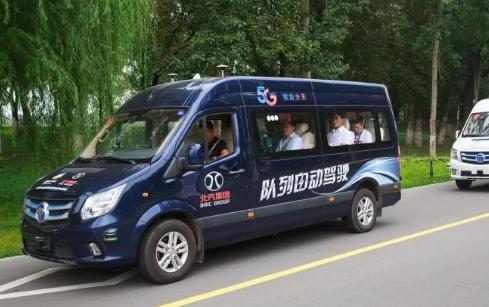 AutoBrain联合北汽集团打造的队列自动驾驶技术将应用于2022年北京冬奥会