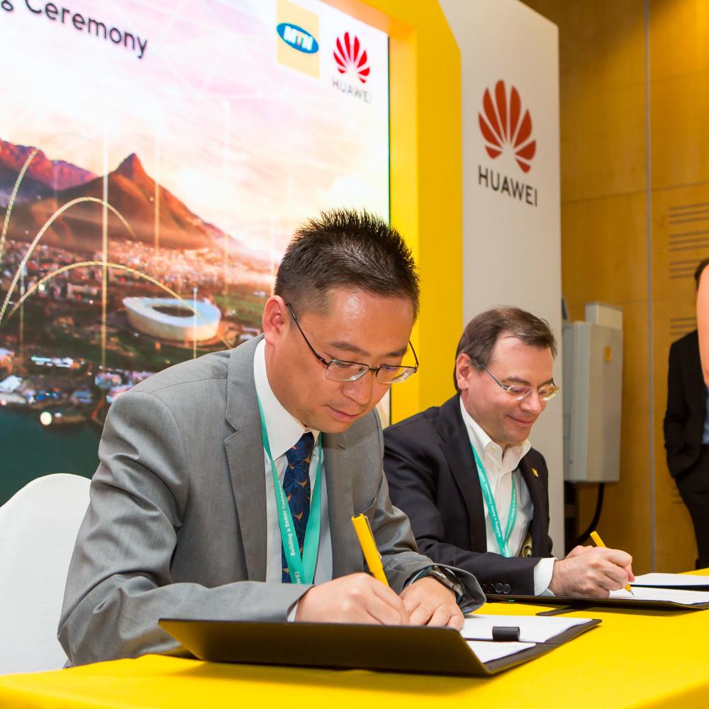 华为与南非电信公司MTN集团签署合作,加快非洲商用5G部署