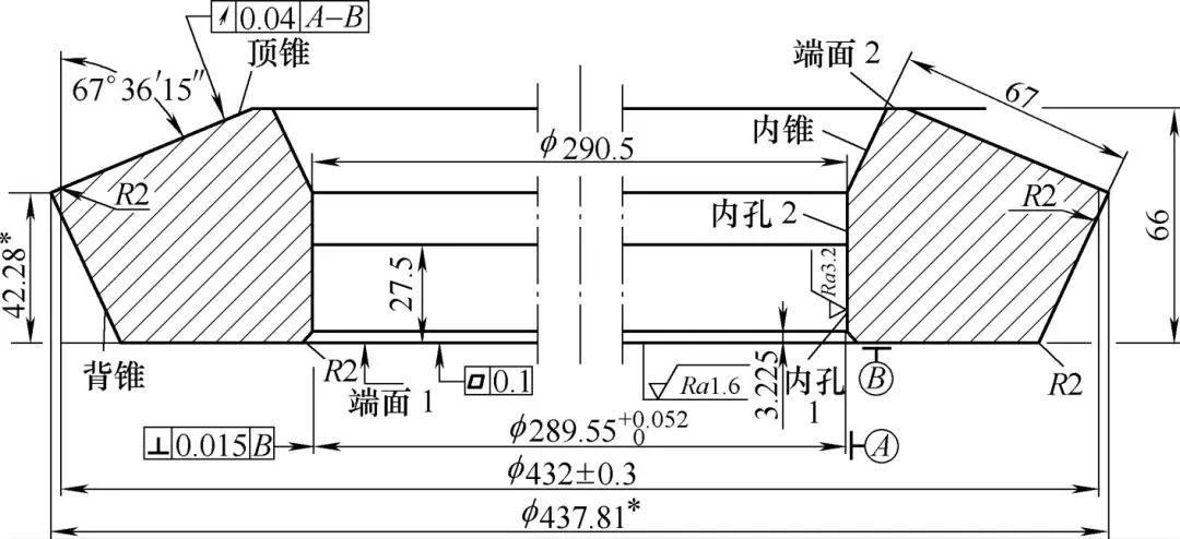 锥齿轮圆跳动量测量支架的设计及使用方法