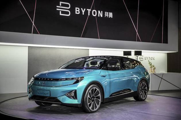 拜腾获得加州的经销商许可,将在美国推出首款电动SUV拜腾M-Byte