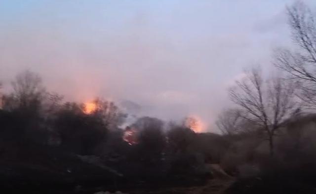 平谷鱼子山山火