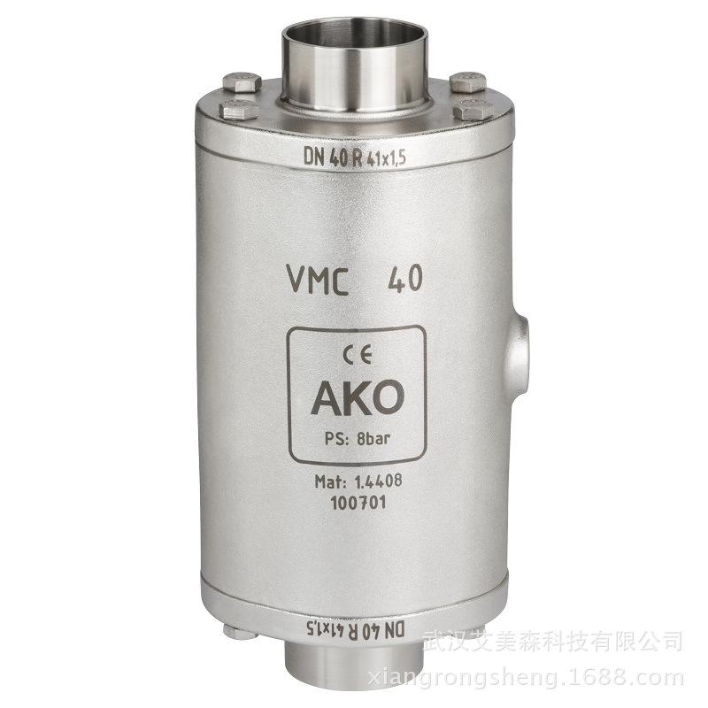 德国AKO   VMC气动管夹阀-端焊接