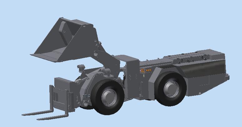 防爆铲运机项目