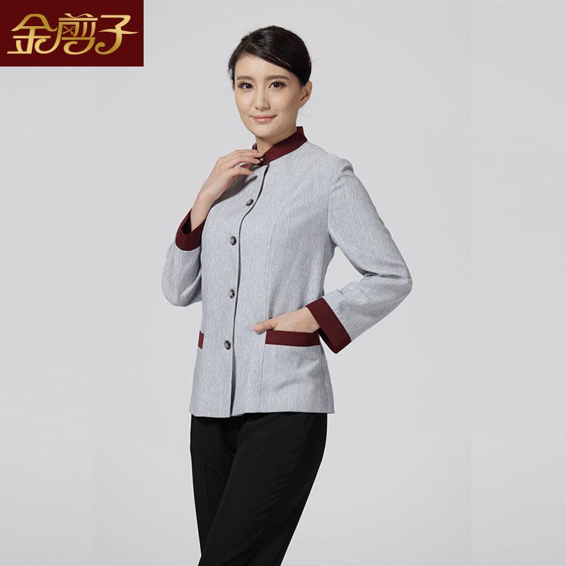 酒店工作服定制定做-北京金剪子酒店服装